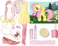 Lovely Undergrad: My Little Pony   6 Magical Costumes Ideas for Halloween  I love Fluttershy.