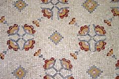 Close-up of mosaic pattern | Mount Nebo | Jordan