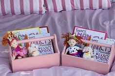 Take home gift includes Fancy Nancy Books