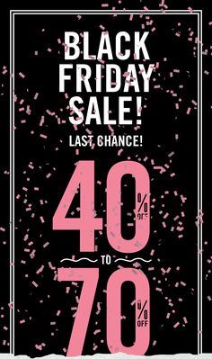 Last Day for Black Friday Savings!