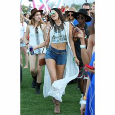 Kendall Jenner and Kylie Jenner #Coachella