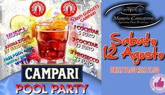 POOL PARTY Campari @ Masseria Casacapanna http://affariok.blogspot.it/