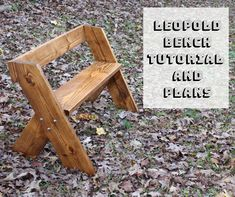 Check out my Leopold bench tutorial and plans post. Take you woodworking skills to a whole new level. A great piece for you porch or yard.