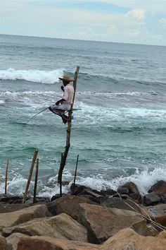 Fiske enligt tradition på Sri Lanka