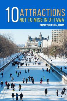 Ottawa is the capital of Canada. There is so much to see and do here, find out the top 10 attractions not to miss in Ottawa. Ottawa, Ottowa Canada, Montreal, Canadian Facts, Vancouver, Forever Travel, Toronto, Capital Of Canada, Canadian Travel