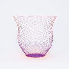 Airvase Orange Purple Set of 3 paper vases, 21 euros by Torafu Architects !!