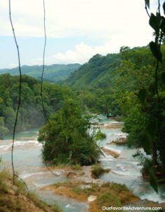 Agua Azul -  Chiapas, Mexico