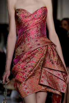 Marchesa 2013- The Indian inspiration.