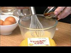 #happyeggs Mat Follas recipes -- Happy Egg Custard