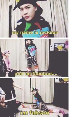 Got 7- Jackson is such a dork!