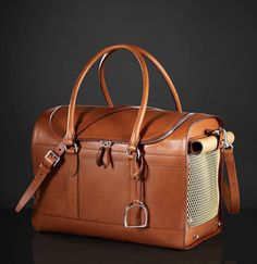Leather Dog Carrier by Ralph Lauren