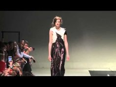 isabelle winter jewlery by Wild Charm showcased at South African Fashion week