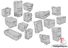 equipment crates from quake 4