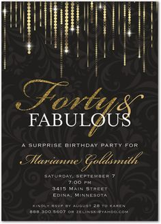 40th birthday invitation women forty and fabulous by partyinstant 40th birthday invitation women forty and fabulous by partyinstant my 40th bday ideas pinterest 40 birthday birthdays and 40th birthday parties filmwisefo