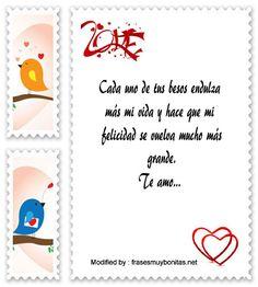 mensajes hermosos de amor para mi novia,mensajes bonitos de amor para mi enamorada: http://www.frasesmuybonitas.net/mensajes-de-amor-para-mi-novia/