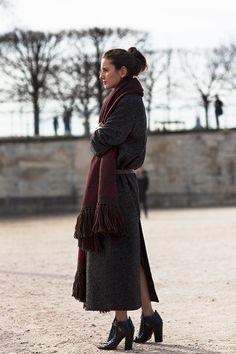 The Long Coat | The Sartorialist: On the Street….Les Tuileries, Paris