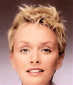 This pixie type of hairstyle is spectacular for a woman that has very thick hair. With the extensive layering, beautiful color and cut, this hairstyle can highlight the most stunning aspects of your face area easily, enhancing your natural beauty. The style is easy to care for, and you can make it functional for a number of occasions.
