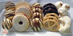 Hungarian Recipes, Doughnut, Biscuits, Bakery, Recipies, Food And Drink, Easter, Sweets, Cookies