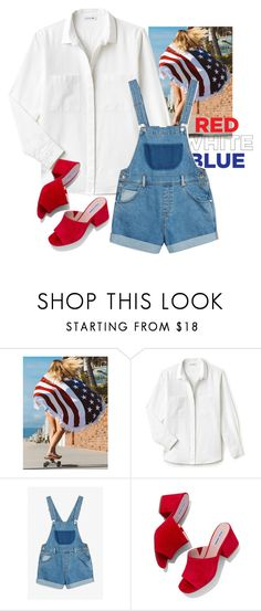 """""""Free"""" by adriastar ❤ liked on Polyvore featuring WithChic, Lacoste, Monki and Steve Madden"""
