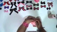 tuxedo bow without hot glue - YouTube