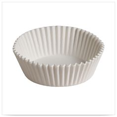 5 1/2 x 3  x 1 1/4 White 5 oz Fluted Bake Cups/Case of 10000 Tags:  Baking Cups;  baking cups;White Baking Cups;Baking Cups; https://www.ktsupply.com/products/32789329099/5-12-x-3--x-1-14-White-5-oz-Fluted-Bake-CupsCase-of-10000.html