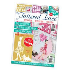 Tattered Lace Magazine Issue 35 with Walking the Scottie Die FREE SHIPPING