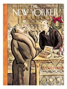 The New Yorker Cover - December 10, 1932 William Steig
