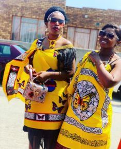 Explore South African wedding traditions, latest Igbo traditional wedding attire, what to wear to a Ghanaian wedding, shweshwe wedding dresses and Wedding Dresses South Africa, African Wedding Attire, African Attire, South African Traditional Dresses, Traditional Outfits, Red Tulle Skirt, Wedding Dress With Feathers, Lace Camisole Top, Traditional Wedding Decor