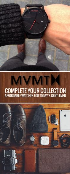 MVMT Watches are a timeless gift thats high quality and affordably priced at around $100 including free shipping worldwide!
