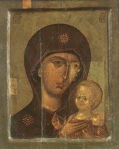 Icon of the Mother of God of St Peter of Moscow - Orthodox Church in America