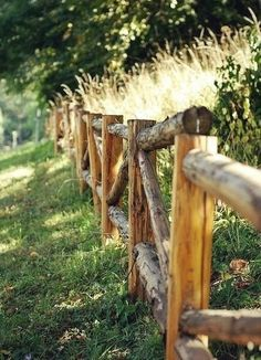 Find a old fence for photos