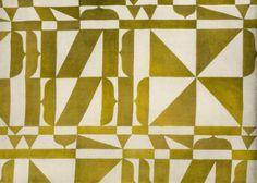 Textile design produced by Wiener Werkstatte in 1925.