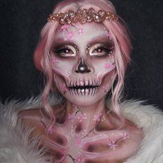 "Gefällt 4,546 Mal, 92 Kommentare - Rosalie Parnes (@wink818) auf Instagram: ""Day 13: Sakura Skelly  Just wanna do my favourite colour today. How's your Friday 13th going?…"""
