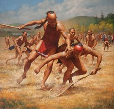 Robert Griffing, Lacrosse - The Warriors Game.