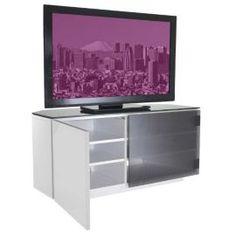 Details About Tv Board Lowboard Sideboard Almada In White