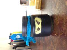 Ninjago party loot ... Repurposed baby food jars ;)