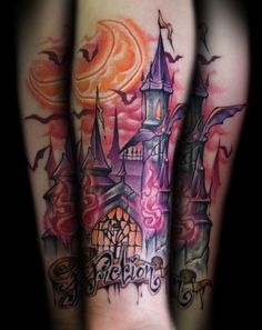 Fiction Castle tattoo