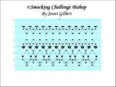 Smocking by Janet: free smocking plates