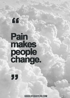 Very true statement. It's both good and bad changes I find ❤ #RelatableChronicIllness #ChronicIllnessQuotes