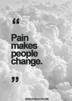 Very true statement. It's both good and bad changes I find ❤ #RelatableChronicIllness #ChronicIllnessQuotes