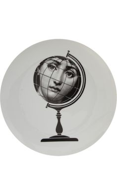 Fornasetti Theme & Variations Decorative Plate #119