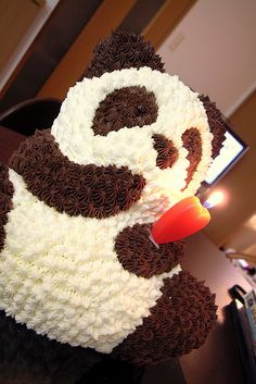 Panda Cake...omg i have to have this!