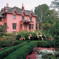 Roseland Cottage   Woodstock, Connecticut, 1846  a national historic landmark