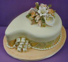 Spring Paisley Cake