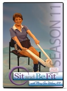 SIT AND BE FIT | Senior Fitness | Senior Exercise Television Program