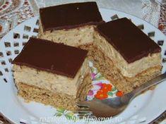 Krispie Treats, Rice Krispies, Hungarian Desserts, Poppy Cake, Nutella, Tiramisu, Food And Drink, Cooking Recipes, Cukor