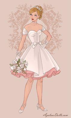Princess Tutu, Princess Style, Princess Wedding Dresses, Disney Princess Fashion, Disney Princess Pictures, Wedding Dress Drawings, Fashion Illustration Sketches, Anime Dress, Kids Outfits Girls