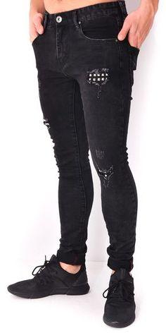 Jeans à clous - Jeans Industry