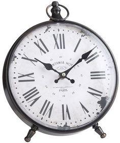 Printania Hotel Desk Clock