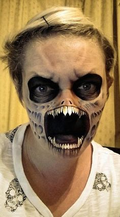 Mom's Halloween Face Paint Transformations Are Literally Terrifying (Photos)